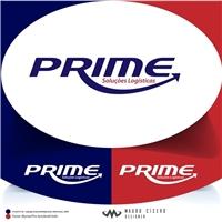 PRIME Soluções Logísticas, Logo e Identidade, Logística, Entrega & Armazenamento