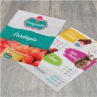 Congelatte Gelateria, Peças Gráficas e Publicidade, Alimentos & Bebidas