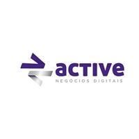 Active (slogan para colocar logo abaixo da logo: Negócios Digitais), Logo e Identidade, Marketing & Comunicação