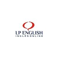 L P ENGLISH, Logo e Identidade, Educação & Cursos