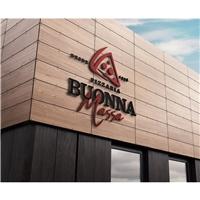 Pizzaria Buonna Massa, Logo e Identidade, Alimentos & Bebidas