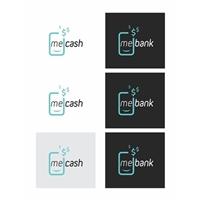 ME CASH, Logo e Identidade, Contabilidade & Finanças