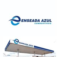 ENSEADA AZUL COMBUSTÍVEIS LTDA, Logo e Identidade, Automotivo