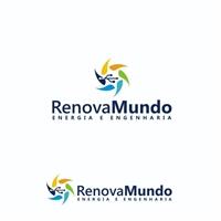 Renova Mundo, Logo e Identidade, Construção & Engenharia