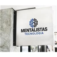Mentalistas Tecnologia, Logo e Identidade, Tecnologia & Ciencias