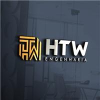HTW ENGENHARIA, Logo e Identidade, Construção & Engenharia