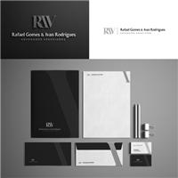 RIV Rafael Gomes & Ivan Rodrigues Sociedade de Advogados , Logo e Identidade, Advocacia e Direito