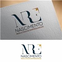 N R E - Nascimento Resultados Empresariais, Logo e Identidade, Consultoria de Negócios