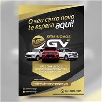SeminovosGV, Peças Gráficas e Publicidade, Automotivo