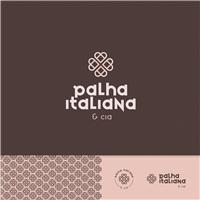 Palha Italiana & Cia, Logo e Identidade, Alimentos & Bebidas