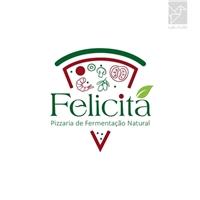Felicitá - Pizzaria de fermentação natural, Logo e Identidade, Alimentos & Bebidas