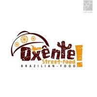 Oxênte Street-Food branco, Logo e Identidade, Alimentos & Bebidas