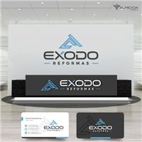Exodo Reformas , Logo e Identidade, Construção & Engenharia