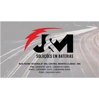 J&M Soluções em Baterias, Logo e Identidade, Automotivo