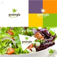 greengle, Logo e Identidade, Alimentos & Bebidas
