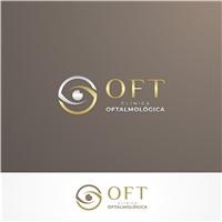 OFT - Clínica Oftalmológica, Logo e Identidade, Saúde & Nutrição