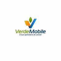 """""""Verde Mobile - A sua operadora de celular"""", Logo e Identidade, Computador & Internet"""