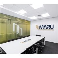 MARU EMPREENDIMENTOS, Logo e Identidade, Construção & Engenharia