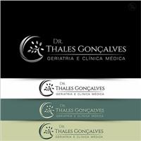 Dr. Thales Gonçalves, Logo e Identidade, Saúde & Nutrição