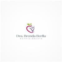 Nutricionista Brenda Berlla Morais, Logo e Identidade, Saúde & Nutrição