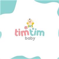 Tim Tim baby / fábrica de fraldas descartáveis e produtos para bebês , Logo e Identidade, Crianças & Infantil