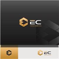 EC Empreendimentos , Logo e Identidade, Construção & Engenharia