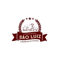 Confinamento São Luiz Comércio de Ovinos, Logo e Identidade, Animais