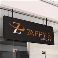 Zappys Modas, Logo e Identidade, Roupas, Jóias & acessórios
