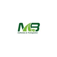 MB Colheitas e transportes , Logo e Identidade, Logística, Entrega & Armazenamento