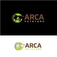 Arca Petstore, Logo e Identidade, Animais