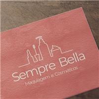 Sempre Bella, Logo e Identidade, Beleza