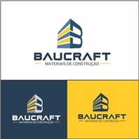 Baucraft, Logo e Identidade, Construção & Engenharia