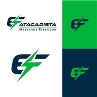 EF ATACADISTA DE MATERIAIS ELÉTRICOS, Logo e Identidade, Construção & Engenharia