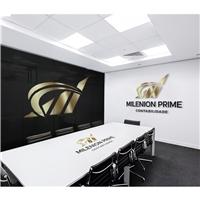 milenion prime, Logo e Identidade, Contabilidade & Finanças