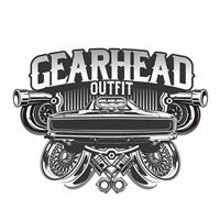 GEARHEAD OUTFIT, Logo e Identidade, Roupas, Jóias & acessórios