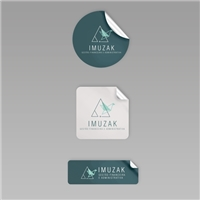 Imuzak Gestão Financeira e Administrativa, Logo e Identidade, Contabilidade & Finanças
