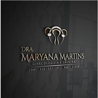 Dra Maryana Martins, Logo e Identidade, Saúde & Nutrição