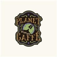 Planet Caffé, Logo e Identidade, Alimentos & Bebidas