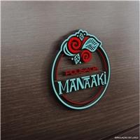 Pousada Manaaki, Logo e Identidade, Viagens & Lazer