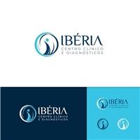 Ibéria Centro Clínico e Diagnósticos, Logo e Identidade, Saúde & Nutrição
