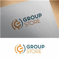 Group Store, Logo e Identidade, Tecnologia & Ciencias