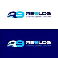 Re9Log Transportes, Logística e Consultoria, Logo e Identidade, Logística, Entrega & Armazenamento