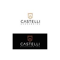 Castelli Acessórios, Logo e Identidade, Roupas, Jóias & acessórios