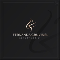 Fernanda Cruvinel Beauty Artist, Logo e Identidade, Beleza