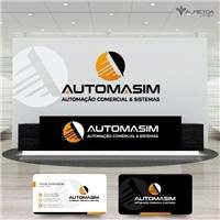 Automasim Tecnologia (Automação Comercial & Sistemas), Logo e Identidade, Outros
