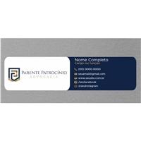 Parente Patrocínio Advocacia, Logo e Identidade, Advocacia e Direito