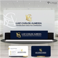 LUIZ CARLOS ALMEIDA - CONTABILIDADE CONSULTIVA & EMPRESARIAL EIRELI, Logo e Identidade, Contabilidade & Finanças