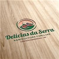 Delícias da Serra, Logo e Identidade, Alimentos & Bebidas