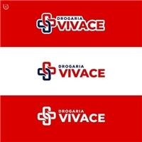 Drogaria Vivace, Logo e Identidade, Saúde & Nutrição