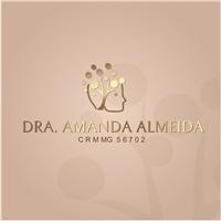Dra. Amanda Almeida, Logo e Identidade, Saúde & Nutrição